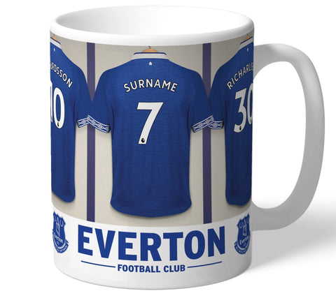 Personalised Everton Dressing Room Mug - Official Merchandise Gifts