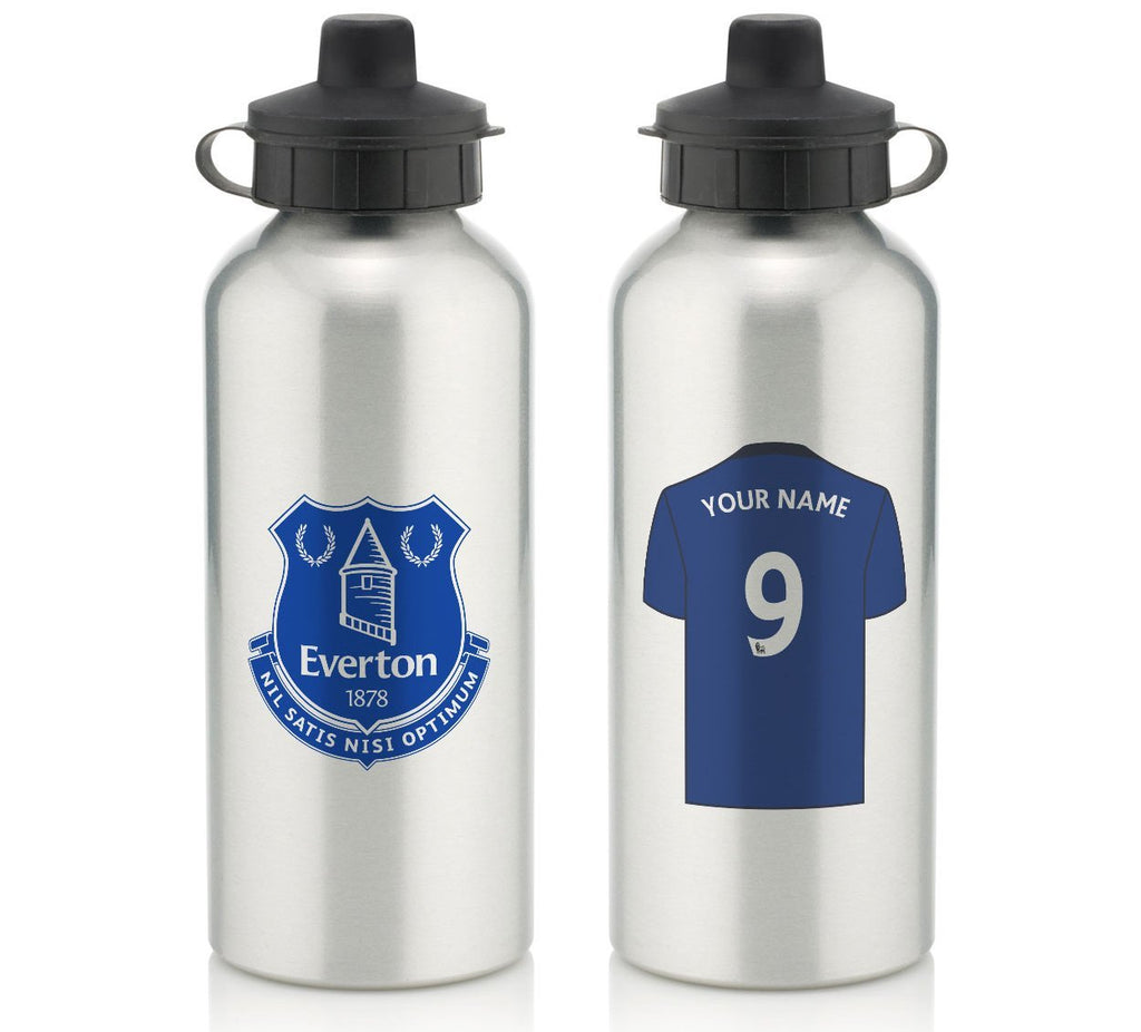 Personalised Everton Water Bottle - Official Merchandise Gifts