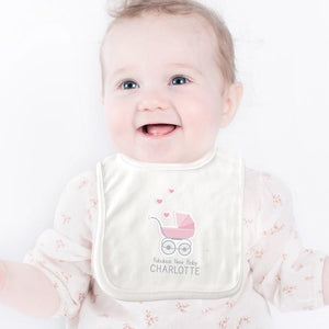 Personalised Fabulous New Baby Girl Bib - Official Merchandise Gifts