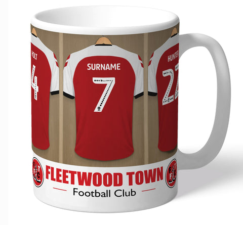 Personalised Fleetwood Mug - Dressing Room - Official Merchandise Gifts
