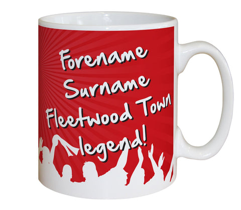 Personalised Fleetwood Mug - Legend - Official Merchandise Gifts