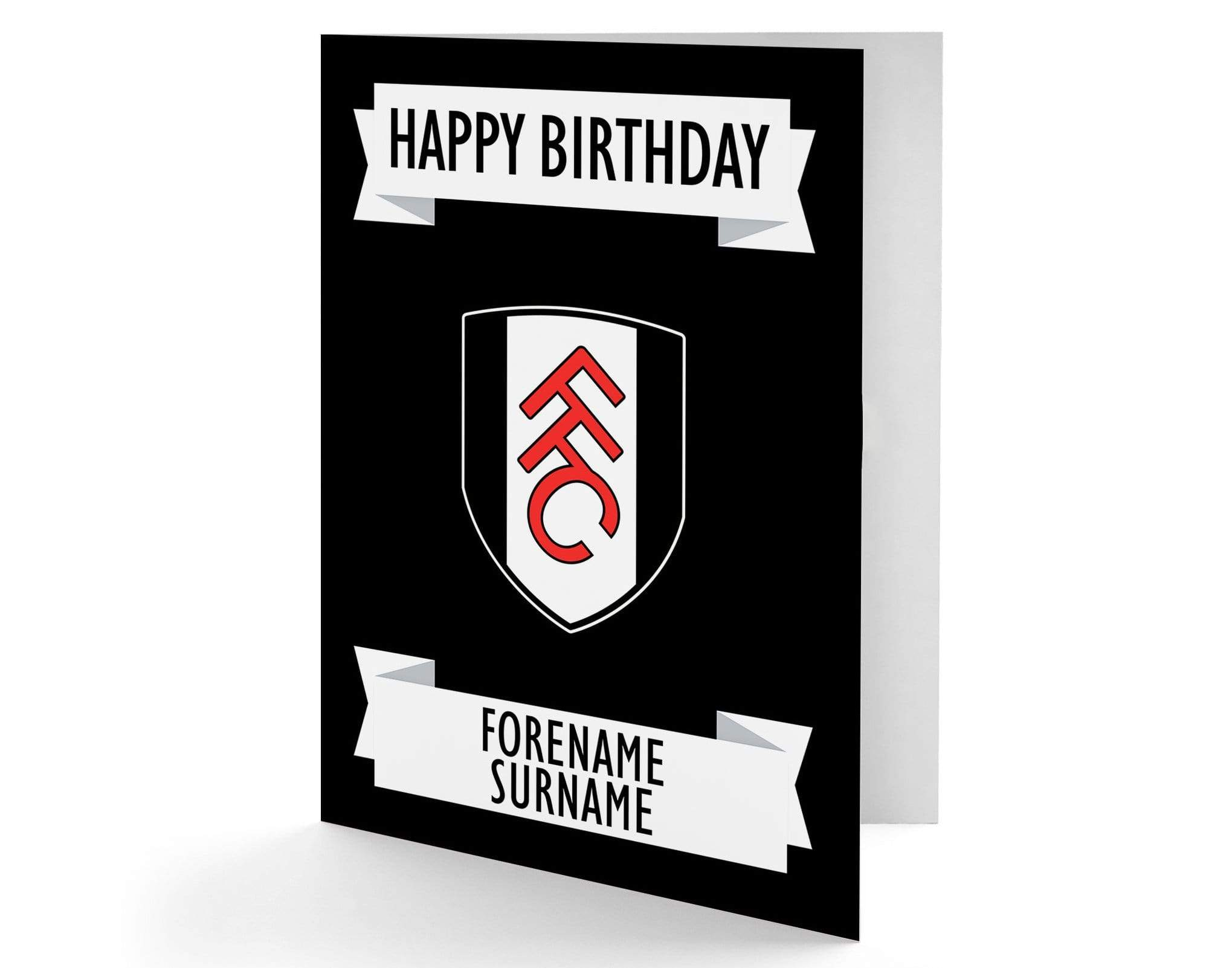 Personalised Fulham Birthday Card, Greeting & Note Cards by Glamorous Gifts