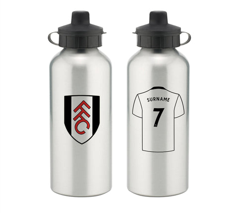 Personalised Fulham Water Bottle - Official Merchandise Gifts