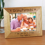 Personalised Grandparents Photo Frame