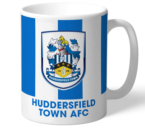 Personalised Huddersfield Crest Mug - Official Merchandise Gifts