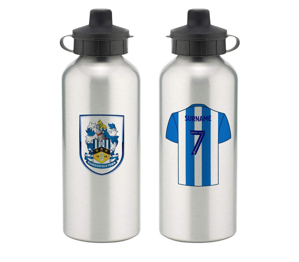 Personalised Huddersfield Water Bottle - Official Merchandise Gifts