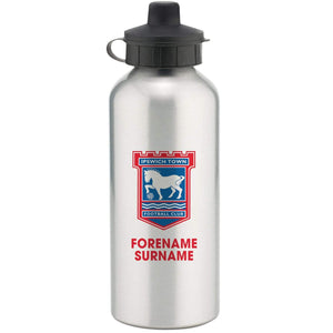 Personalised Ipswich Water Bottle - Official Merchandise Gifts