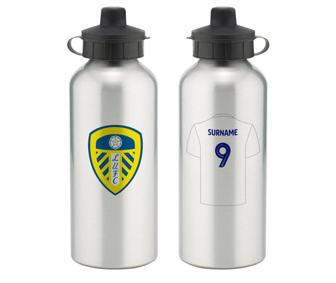 Personalised Leeds Water Bottle - Official Merchandise Gifts