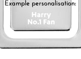 Personalised Leicester City FC Crest Bookmark - Official Merchandise Gifts