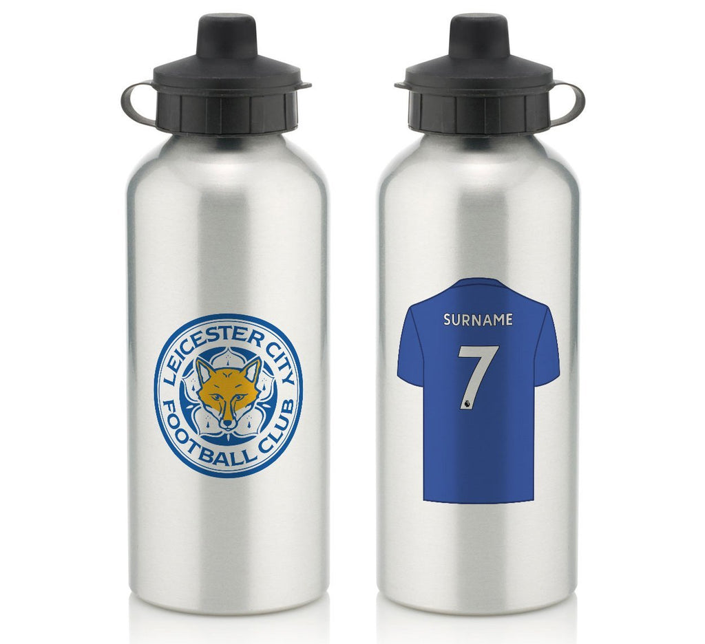 Personalised Leicester Water Bottle - Official Merchandise Gifts