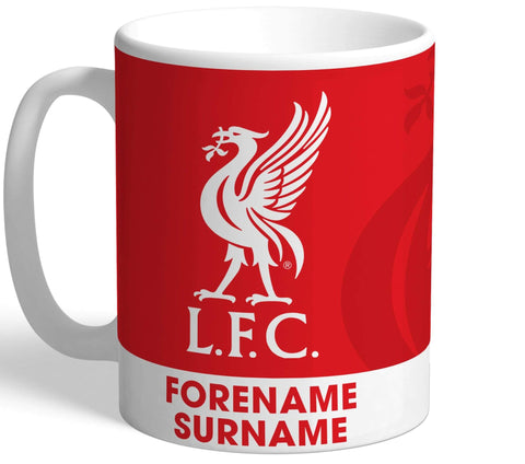 Personalised Liverpool Crest Mug - Official Merchandise Gifts