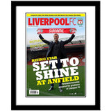 Personalised Liverpool Magazine Cover - Framed - Official Merchandise Gifts