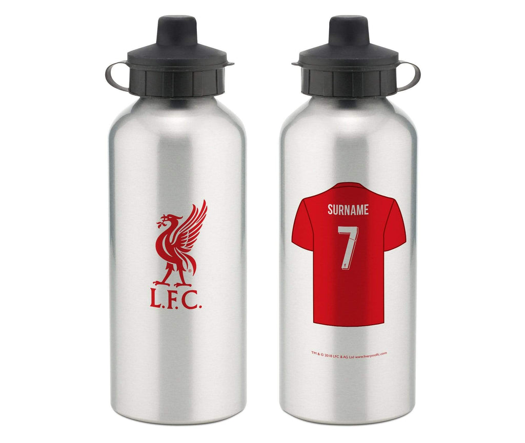 Personalised Liverpool Water Bottle - Official Merchandise Gifts