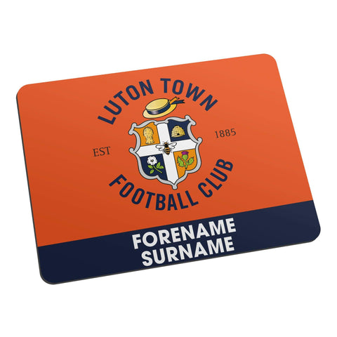 Personalised Luton Mouse Mat - Official Merchandise Gifts