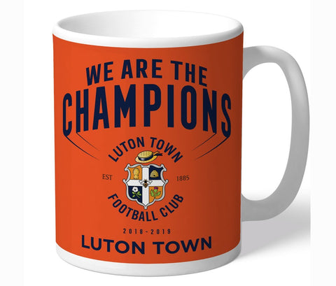 Personalised Luton Mug - Champions - Official Merchandise Gifts