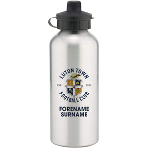 Personalised Luton Water Bottle - Official Merchandise Gifts