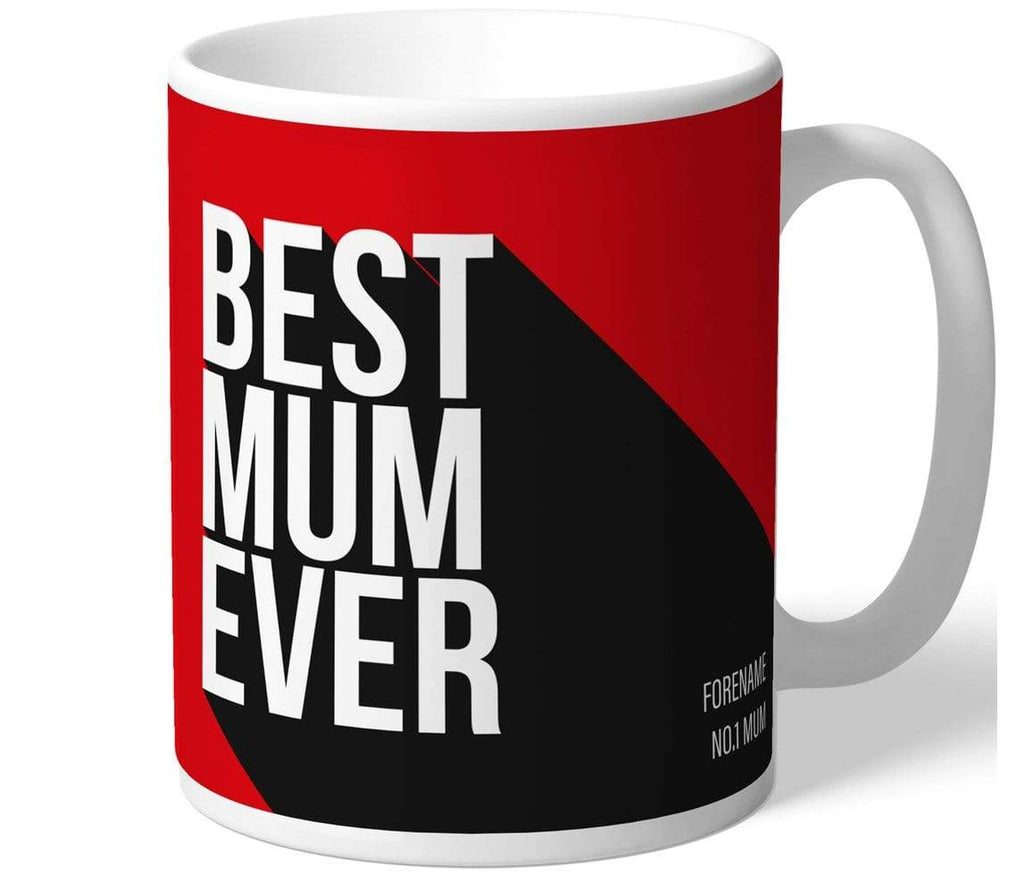 Personalised Man Utd Best Mum Mug - Official Merchandise Gifts