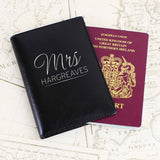 Personalised Mr & Mrs Passport Holders - Official Merchandise Gifts