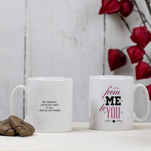 Personalised Mug - From Me To You - Official Merchandise Gifts