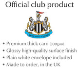 Personalised Newcastle Christmas Card - Official Merchandise Gifts