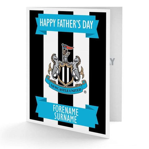 Personalised Newcastle Fathers Day Card - Official Merchandise Gifts