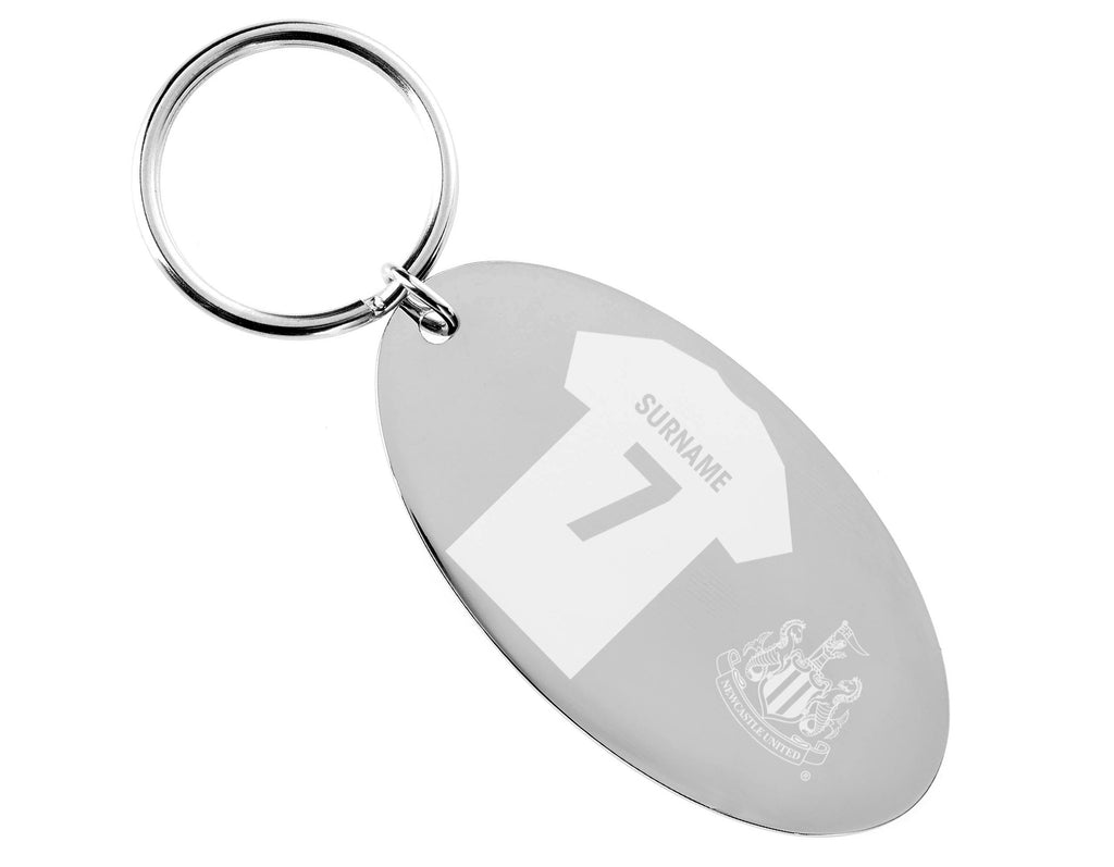 Personalised Newcastle Keyring - Official Merchandise Gifts