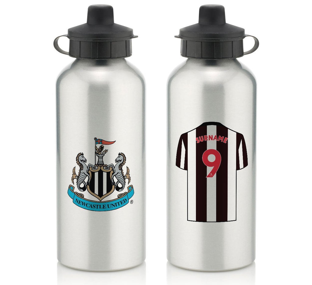 Personalised Newcastle Water Bottle - Official Merchandise Gifts