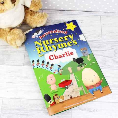 Personalised Nursery Rhymes Book