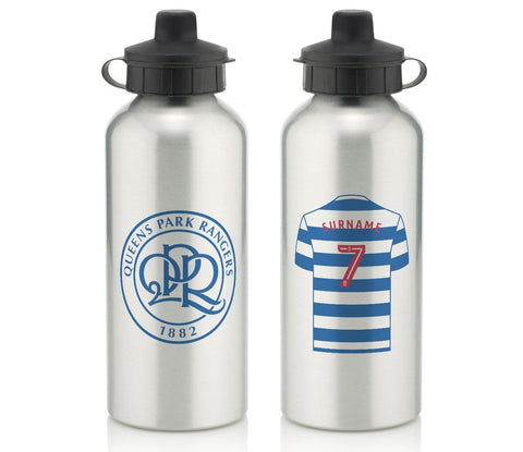 Personalised QPR Water Bottle - Official Merchandise Gifts