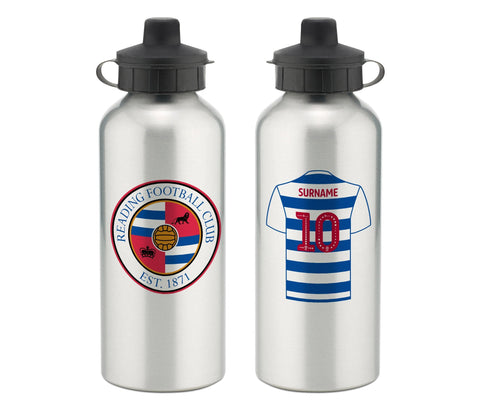 Personalised Reading Water Bottle - Official Merchandise Gifts
