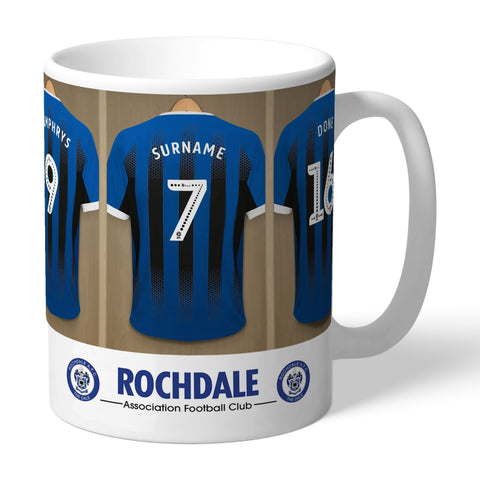 Personalised Rochdale Dressing Room Mug - Official Merchandise Gifts