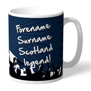 Personalised Scotland Legend Mug - Official Merchandise Gifts