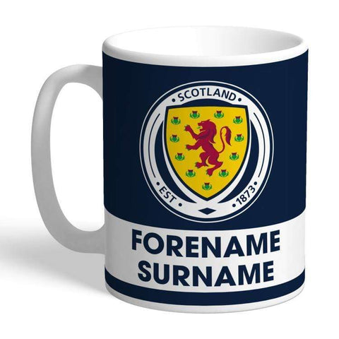 Personalised Scotland Mug - Eat Sleep Drink - Official Merchandise Gifts