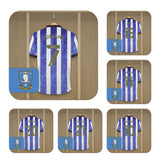 Personalised Sheffield Wednesday FC Dressing Room Coasters - Official Merchandise Gifts