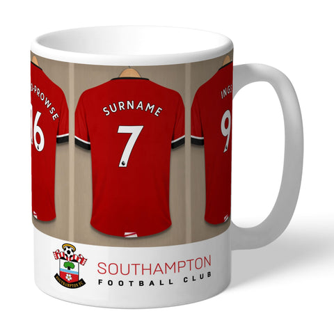 Personalised Southampton Dressing Room Mug - Official Merchandise Gifts
