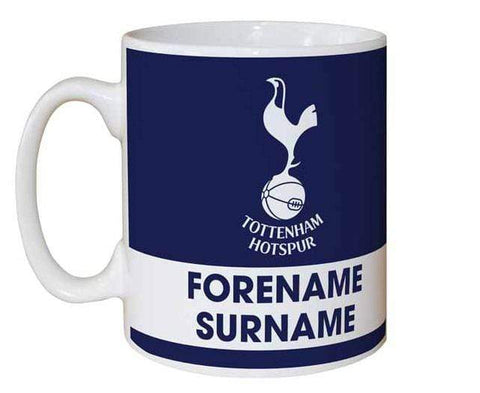 Personalised Tottenham Eat Sleep Drink Mug - Official Merchandise Gifts