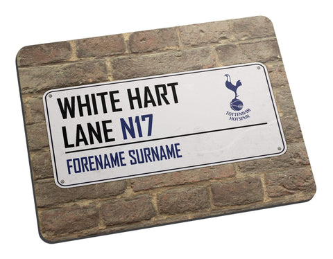 Personalised Tottenham Mouse Mat - Official Merchandise Gifts