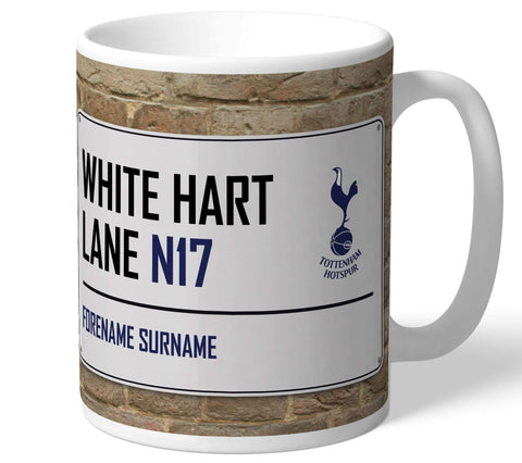 Personalised Tottenham Mug - Street Sign - Official Merchandise Gifts