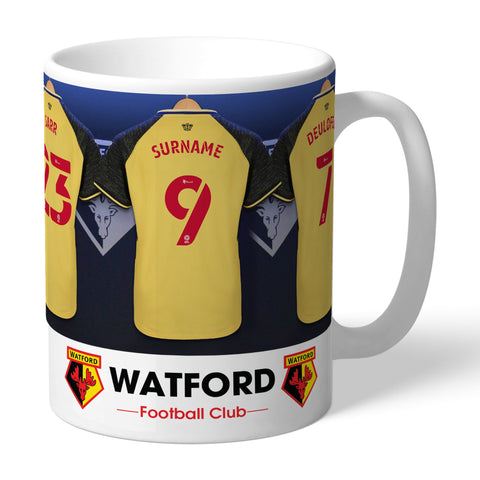 Personalised Watford Dressing Room Mug - Official Merchandise Gifts