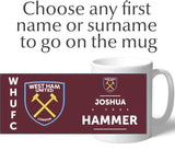 Personalised West Ham Mug - True - Official Merchandise Gifts