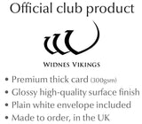 Personalised Widnes Vikings Birthday Card - Official Merchandise Gifts