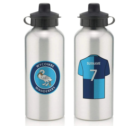 Personalised Wycombe Water Bottle - Official Merchandise Gifts