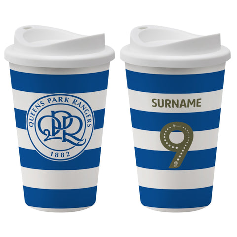 Queens Park Rangers FC Back of Shirt Reusable Cup - Official Merchandise Gifts