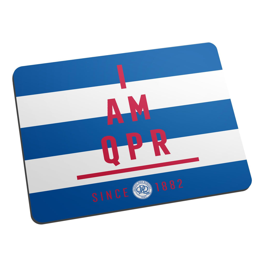 Queens Park Rangers FC I Am Mouse Mat - Official Merchandise Gifts