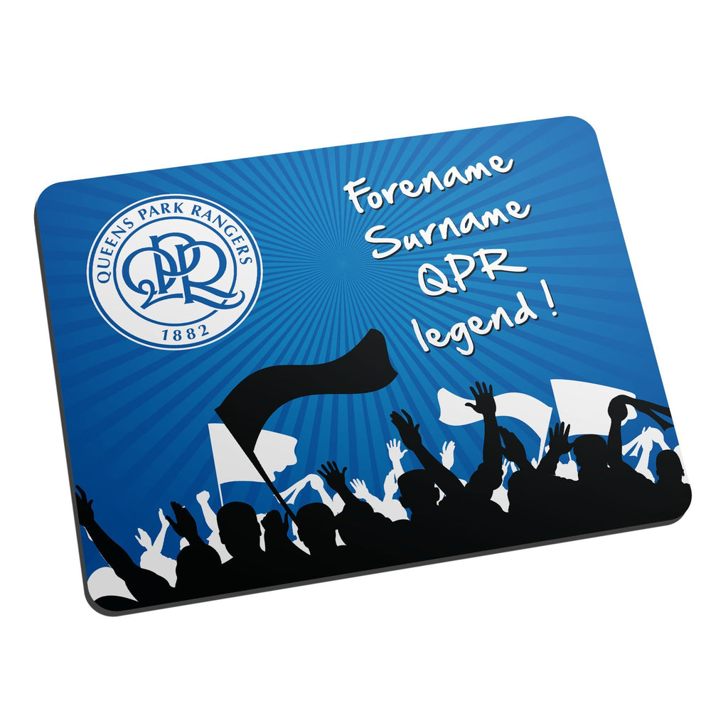 Queens Park Rangers FC Legend Mouse Mat - Official Merchandise Gifts