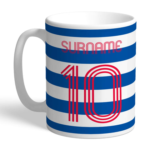 Queens Park Rangers FC Retro Shirt Mug - Official Merchandise Gifts