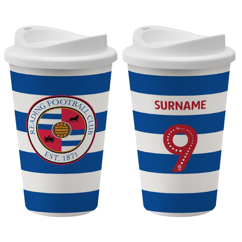Reading FC Back of Shirt Reusable Cup - Official Merchandise Gifts
