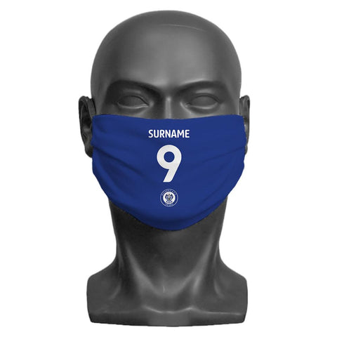 Rochdale AFC Back of Shirt Personalised Face Mask - Official Merchandise Gifts