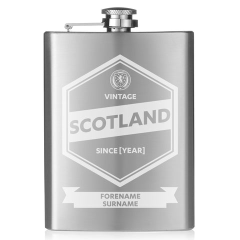 Scotland Vintage Hip Flask - Official Merchandise Gifts