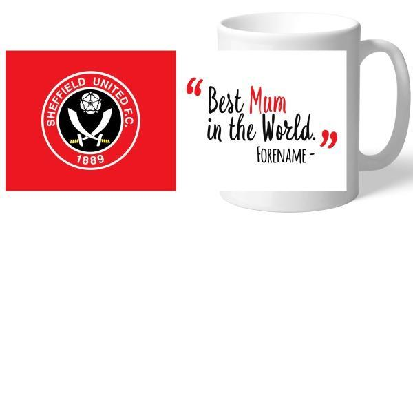 Sheffield United Best Mum In The World Mug - Official Merchandise Gifts